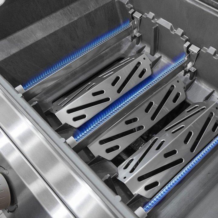 Weber Gasgrill Genesis II S-310 GBS, Edelstahl 5