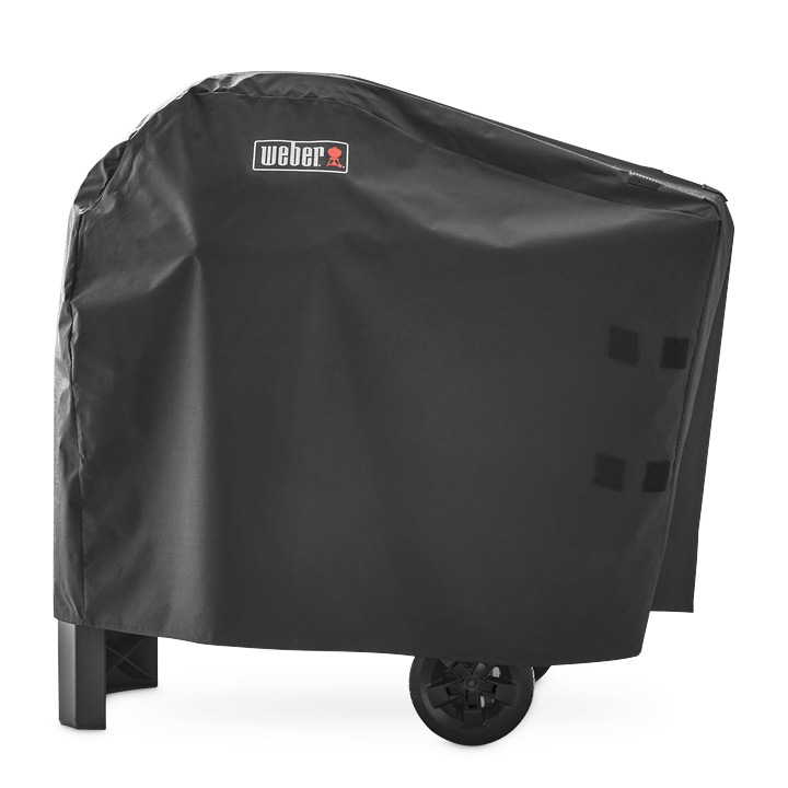 Weber Pulse 2000 inklusive Rollwagen + gratis Abdeckhaube 6