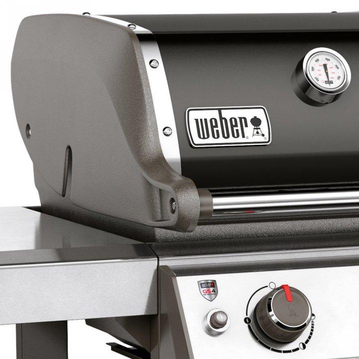 Weber Gasgrill Genesis II E-410 GBS, Black + gratis Abdeckhaube 6