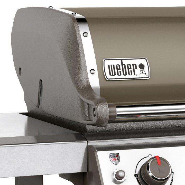 Weber Genesis II E-410 GBS, Smoke Grey (2017/2018) 5