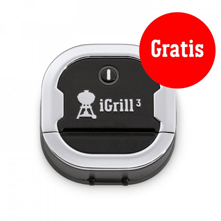 Weber Genesis II EP-335 GBS, Black 2019 + gratis iGrill 3 7