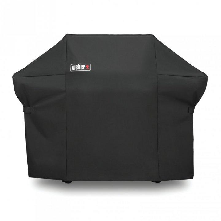Weber Genesis II E-310 GBS, Smoke Grey 2019 + gratis Abdeckhaube 7