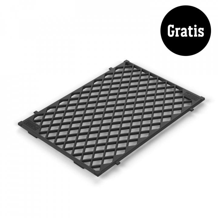 Weber Genesis II E-410 GBS, Black 2019 + gratis Sear Grate 7