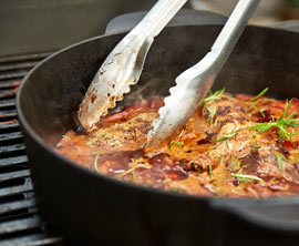 Geflügelrezepte für den Grill