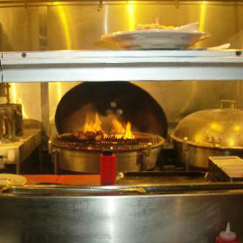 Weber Restaurant Küche