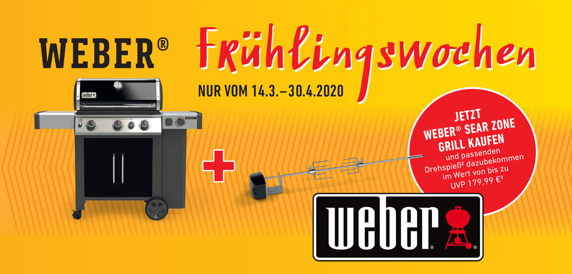 Weber Fruehlingswochen 2020