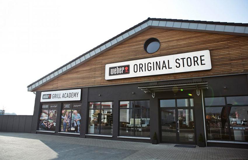 Weber Original Store Ansicht