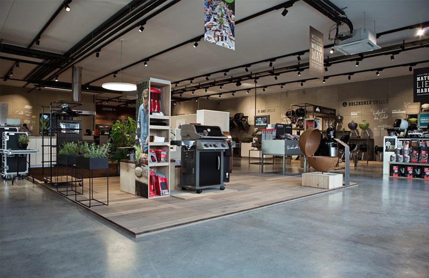 Weber Original Store - Ausstellung Grills
