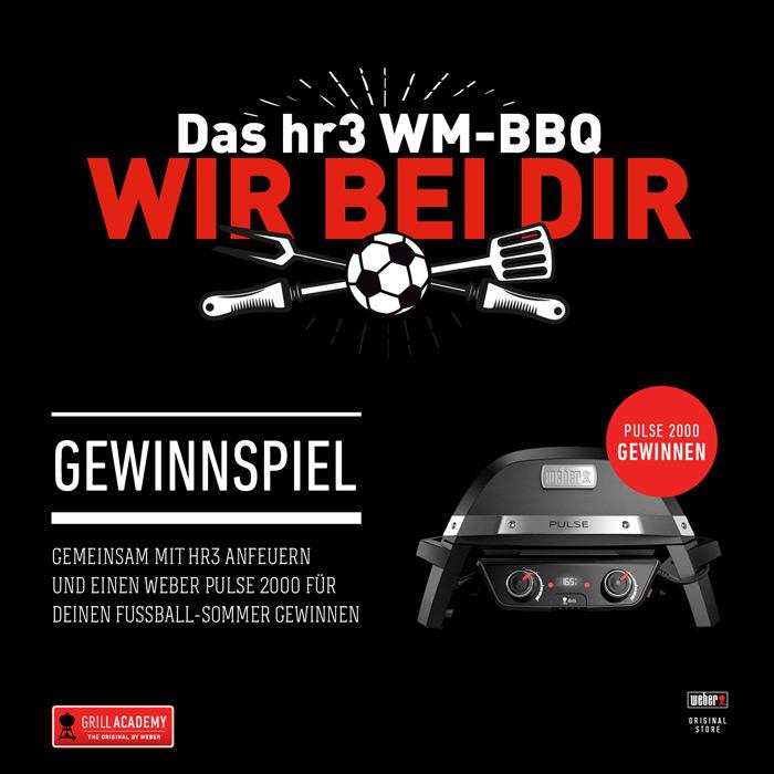 Das hr3 WM-BBQ