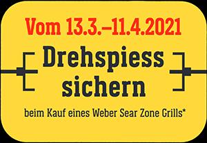 Gratis Weber Drehspiess